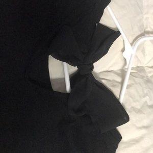 LC Lauren Conrad Tops - Black Lauren Conrad tee with lace